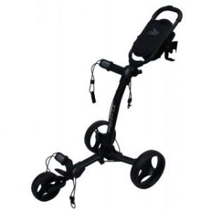 Axglo Golftrolley - schwarzer Rahmen, schwarze Räder
