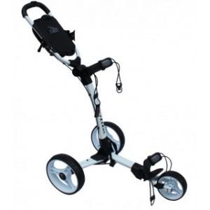Axglo Golftrolley - weißer Rahmen und weiße Räder